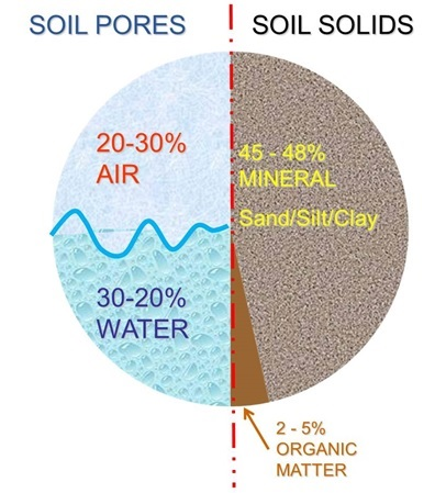 Soil structure diagram